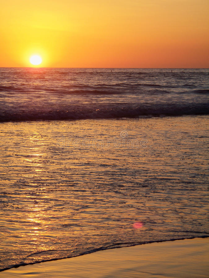 Ηλιοβασίλεμα στο Όρεγκον στοκ φωτογραφία με δικαίωμα ελεύθερης χρήσης