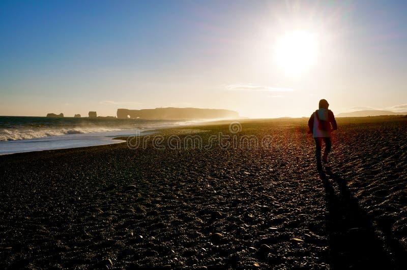 ηλιοβασίλεμα της Ισλαν& στοκ εικόνες με δικαίωμα ελεύθερης χρήσης