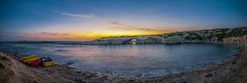 ηλιοβασίλεμα της Σαρδηνίας στοκ εικόνες με δικαίωμα ελεύθερης χρήσης