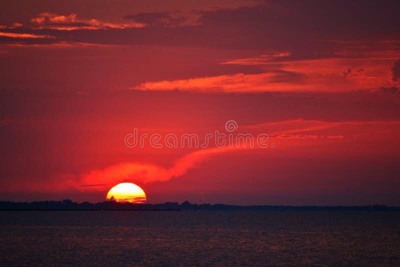 ηλιοβασίλεμα του Οντάρ&iot στοκ φωτογραφία με δικαίωμα ελεύθερης χρήσης