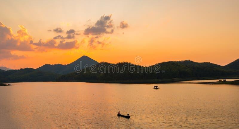 ηλιοβασίλεμα του Tarn στοκ εικόνα με δικαίωμα ελεύθερης χρήσης