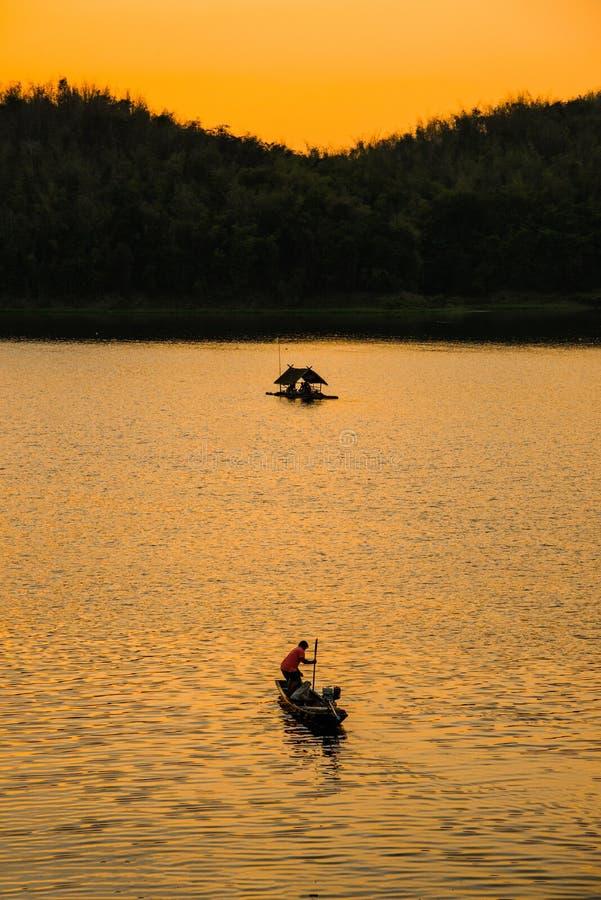 ηλιοβασίλεμα του Tarn στοκ φωτογραφία