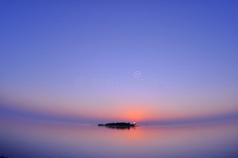 Ηλιοβασίλεμα των Μαλδίβες στοκ εικόνες με δικαίωμα ελεύθερης χρήσης