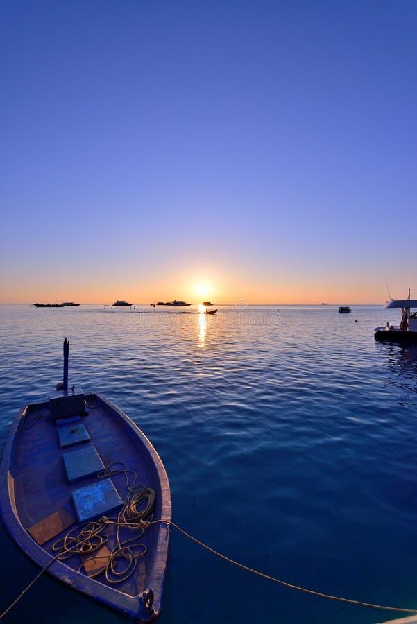 Ηλιοβασίλεμα των Μαλδίβες στοκ φωτογραφίες
