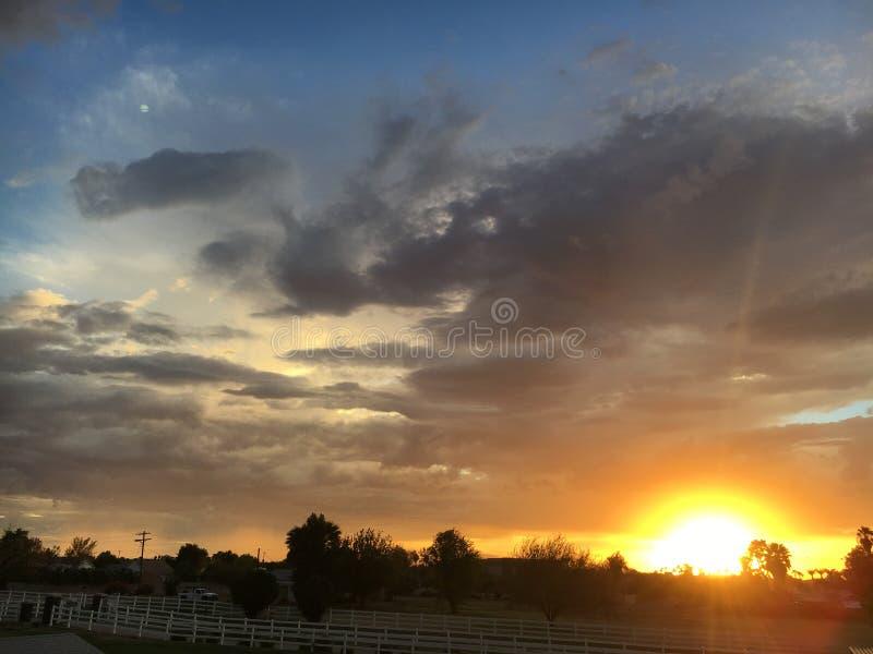 Ηλιοβασίλεμα 2 AZ στοκ φωτογραφία με δικαίωμα ελεύθερης χρήσης