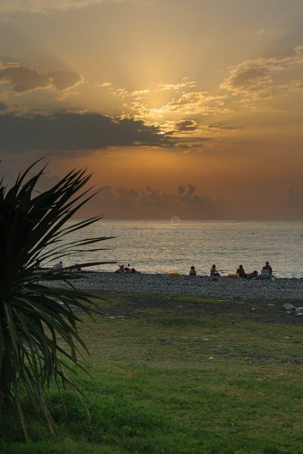 Ηλιοβασίλεμα Butumi στοκ φωτογραφία με δικαίωμα ελεύθερης χρήσης