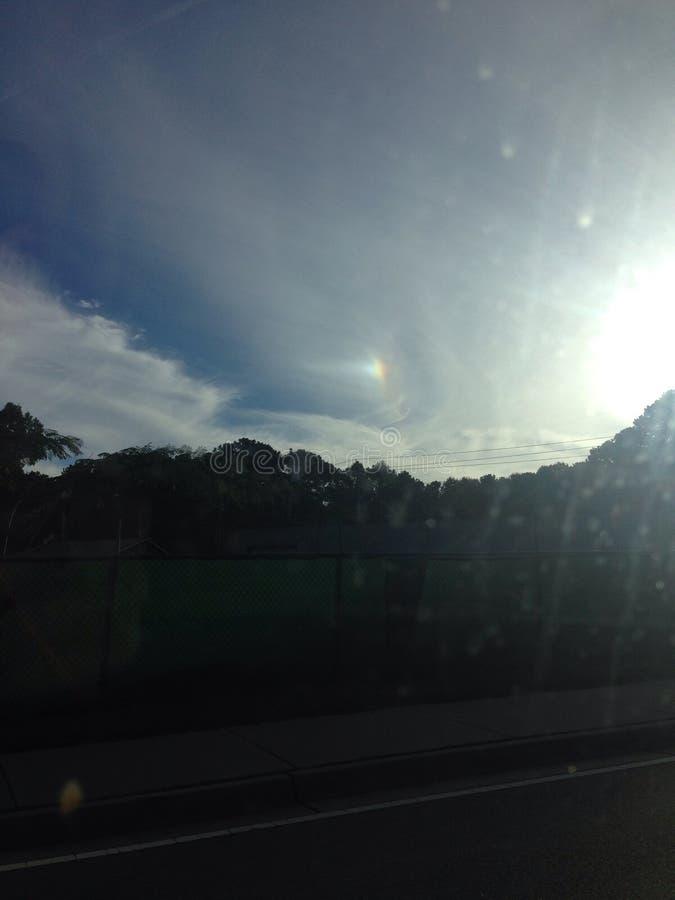 Ηλιοφάνεια βουνών στοκ φωτογραφία με δικαίωμα ελεύθερης χρήσης