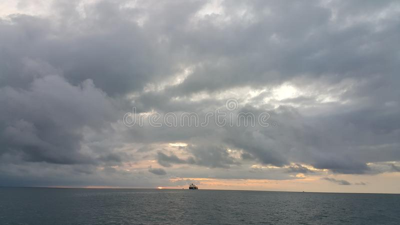 Ηλιοφάνεια θάλασσας στοκ φωτογραφίες με δικαίωμα ελεύθερης χρήσης