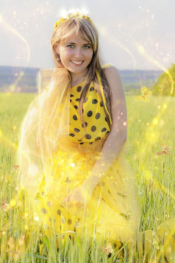 Η ιστορία της ηλιακής πριγκήπισσας στοκ φωτογραφία με δικαίωμα ελεύθερης χρήσης