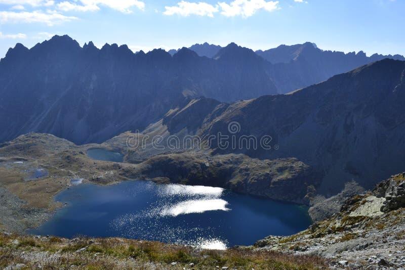 Ηλιόλουστη ημέρα στα βουνά Tatra στοκ εικόνες με δικαίωμα ελεύθερης χρήσης