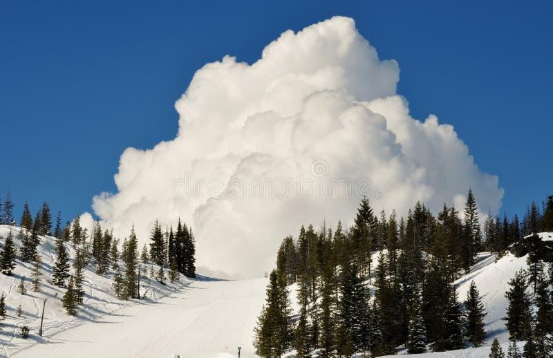Χιονοδρομικό κέντρο Hoodoo στοκ φωτογραφία με δικαίωμα ελεύθερης χρήσης
