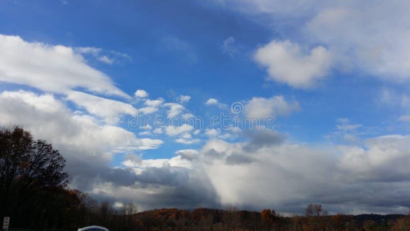 Ηλιόλουστη θύελλα στοκ εικόνες