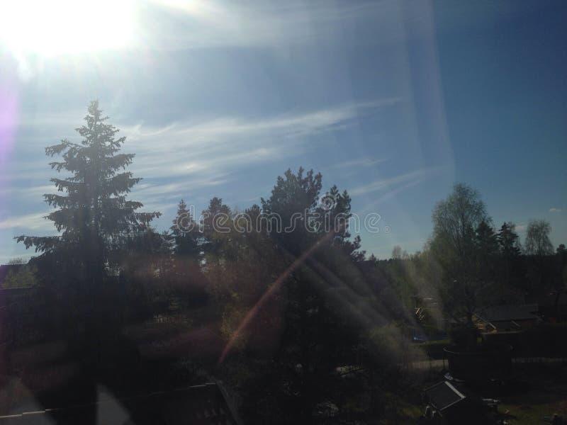 ηλιόλουστος καιρός στοκ φωτογραφία με δικαίωμα ελεύθερης χρήσης