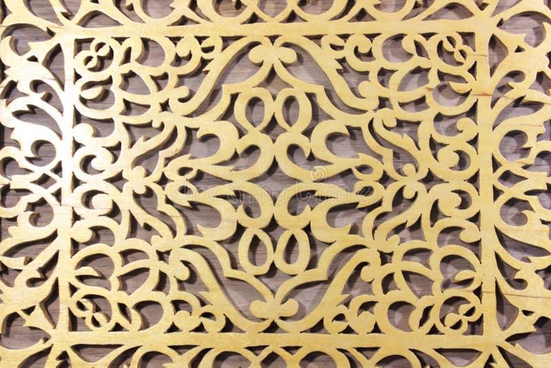 Η κάλυψη του ξύλινου κιβωτίου Να κινηθεί σπασμωδικά έξω με ένα τορνευτικό πριόνι στοκ φωτογραφία με δικαίωμα ελεύθερης χρήσης