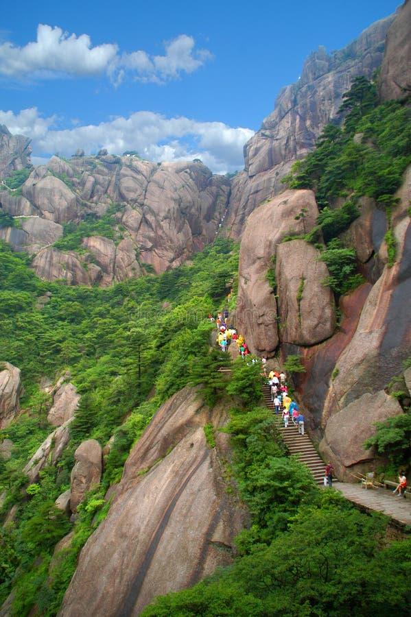 η Κίνα huangshan επικολλά στοκ φωτογραφία με δικαίωμα ελεύθερης χρήσης