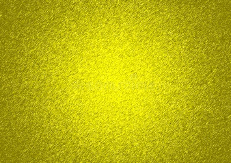 Η κίτρινη βούρτσα κτυπά το κατασκευασμένο υπόβαθρο στοκ εικόνα με δικαίωμα ελεύθερης χρήσης