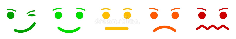 Η καθορισμένη συγκίνηση αντιμετωπίζει smilies, καθορισμένη συγκίνηση smiley, από τα smilies, κινούμενα σχέδια emoticons - διάνυσμ διανυσματική απεικόνιση