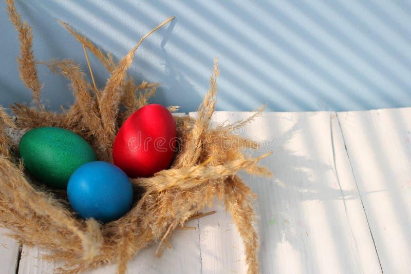 Η καθολική Πάσχα Κυριακή Πάσχας και η ορθόδοξη Κυριακή Πάσχας στοκ εικόνα με δικαίωμα ελεύθερης χρήσης