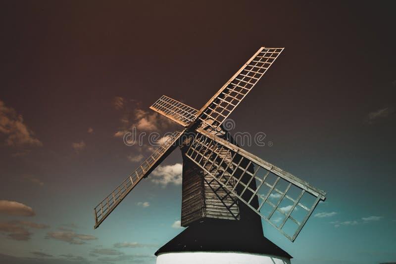 Η καρακάξα Buckinghamshire Ηνωμένο Βασίλειο Pitstone Wimdmill Ivinghoe Leighton στοκ εικόνα με δικαίωμα ελεύθερης χρήσης