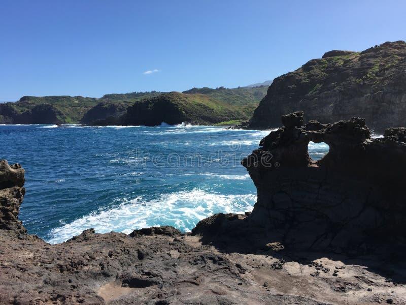 Η καρδιά μου είναι σε Maui στοκ εικόνες