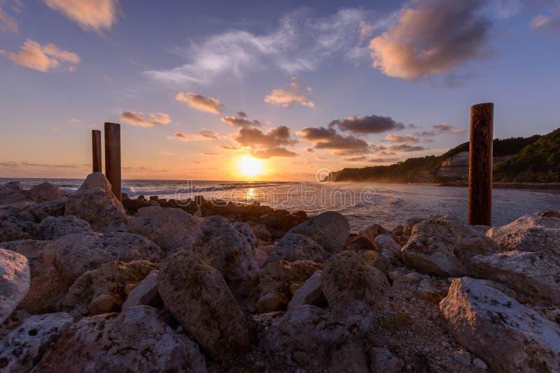Η κατάπληξη sunsets του Μπαλί στοκ φωτογραφίες με δικαίωμα ελεύθερης χρήσης