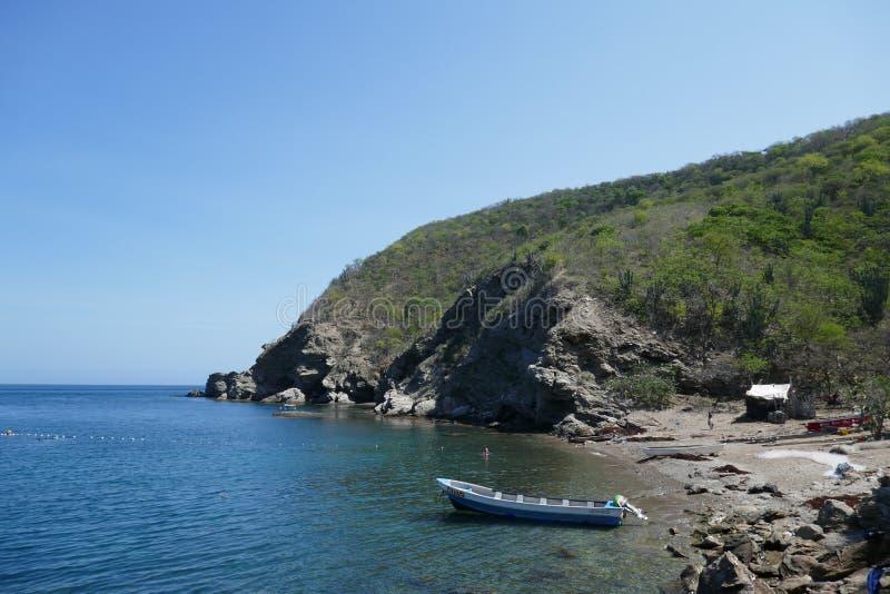 Η καταπληκτική παραλία γρανατών στοκ εικόνα με δικαίωμα ελεύθερης χρήσης