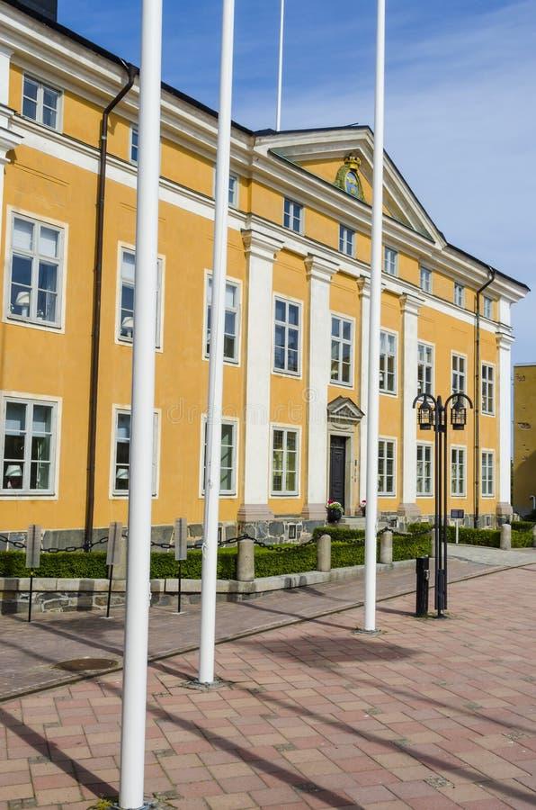 Η κατοικία Harnosand κυβερνητών νομών στοκ εικόνες