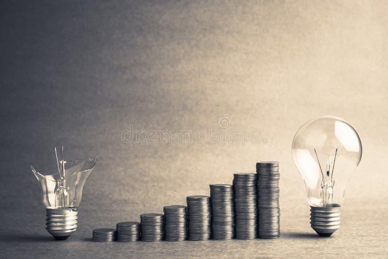 Η καλή ιδέα κάνει τα χρήματα περισσότεροι στοκ εικόνες