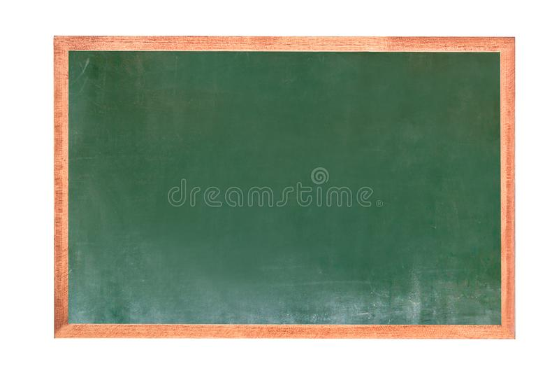 Η κενή πράσινη σύσταση πινάκων κιμωλίας κρεμά στον άσπρο τοίχο διπλό πλαίσιο από το greenboard και το άσπρο υπόβαθρο εικόνα για τ στοκ εικόνες με δικαίωμα ελεύθερης χρήσης