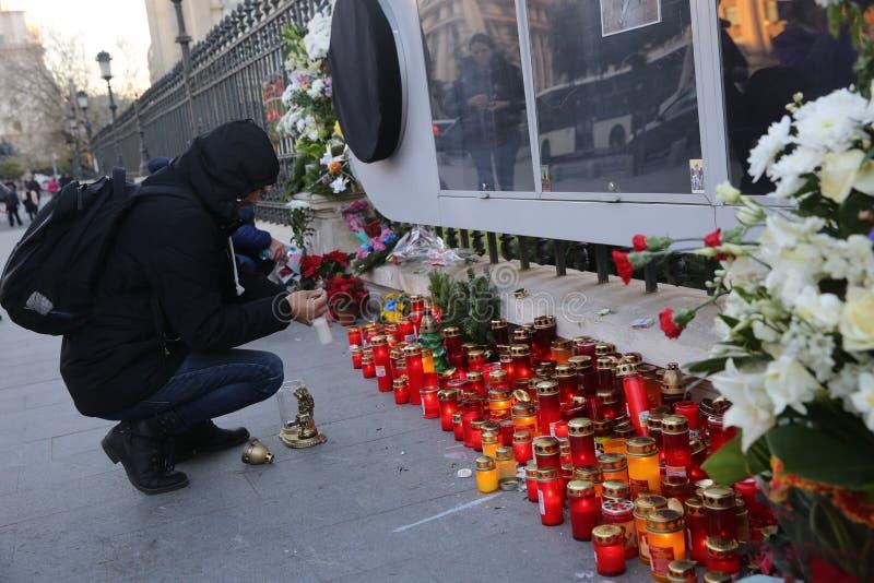 Η κηδεία του βασιλιά Michael Ι της Ρουμανίας στοκ φωτογραφία με δικαίωμα ελεύθερης χρήσης