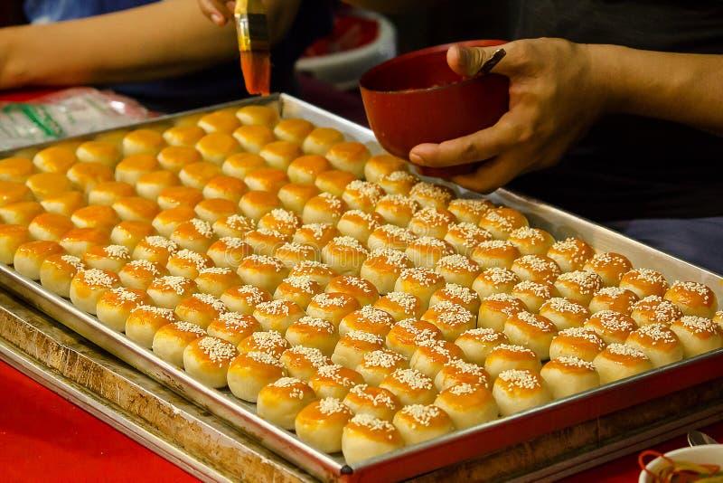 Η κινεζική ζύμη είναι ένα αρχαίο κινεζικό επιδόρπιο στοκ εικόνα με δικαίωμα ελεύθερης χρήσης