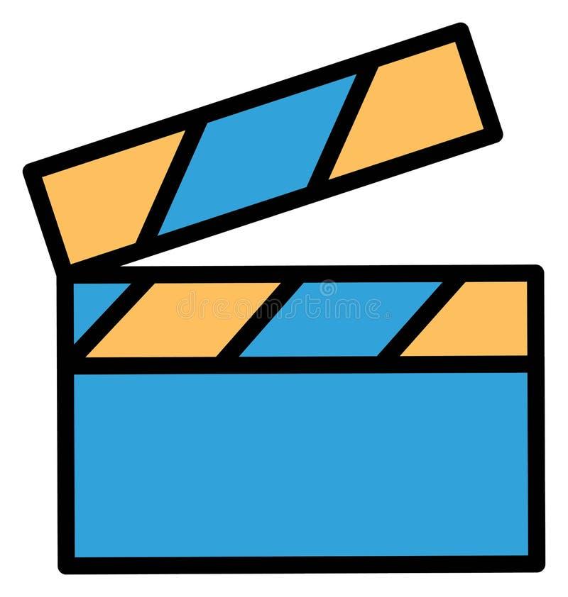 Η κινηματογραφία απομόνωσε το διανυσματικό εικονίδιο που μπορεί εύκολα να τροποποιήσει ή να εκδώσει διανυσματική απεικόνιση