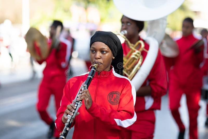Η κλασική παρέλαση 2018 Bayou στοκ φωτογραφία με δικαίωμα ελεύθερης χρήσης