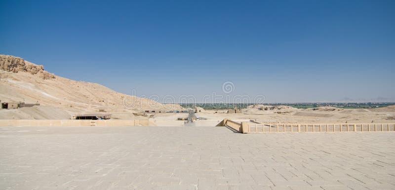 Η κοιλάδα των βασιλιάδων στην Αίγυπτο στοκ εικόνα