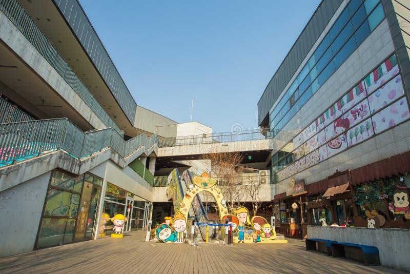 Η κοιλάδα τέχνης Heyri σε Paju, Νότια Κορέα στοκ εικόνες με δικαίωμα ελεύθερης χρήσης