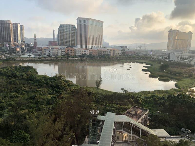 Η κορυφή Taipa, Μακάο στοκ φωτογραφίες