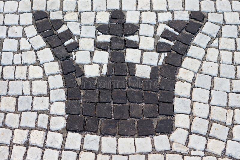 Η κορώνα στέφεται με την πέτρα στοκ φωτογραφία με δικαίωμα ελεύθερης χρήσης