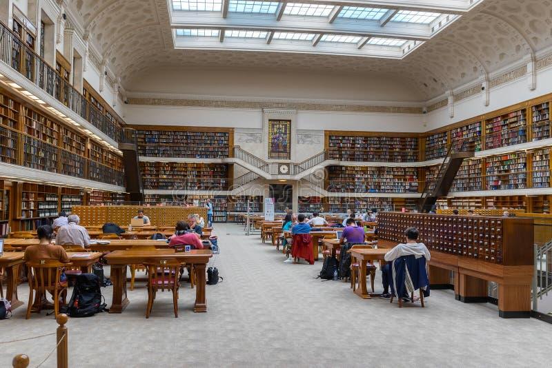 Η κρατική βιβλιοθήκη της Νότιας Νέας Ουαλίας στο Σίδνεϊ στοκ φωτογραφία με δικαίωμα ελεύθερης χρήσης