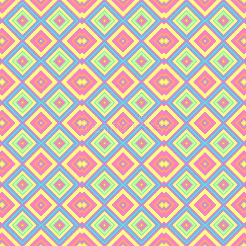 Η κρητιδογραφία χρωμάτισε το άνευ ραφής υπόβαθρο σύστασης σχεδίων - ρόδινα, μπλε, κίτρινα, πράσινα και πορτοκαλιά χρώματα μωρών απεικόνιση αποθεμάτων