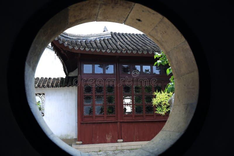 Η κυκλική πόρτα στοκ εικόνα με δικαίωμα ελεύθερης χρήσης