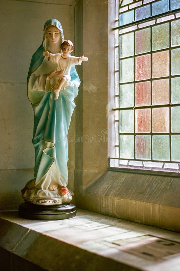 Η κυρία ειρήνης μας - η ευλογημένη Virgin Mary στοκ εικόνες