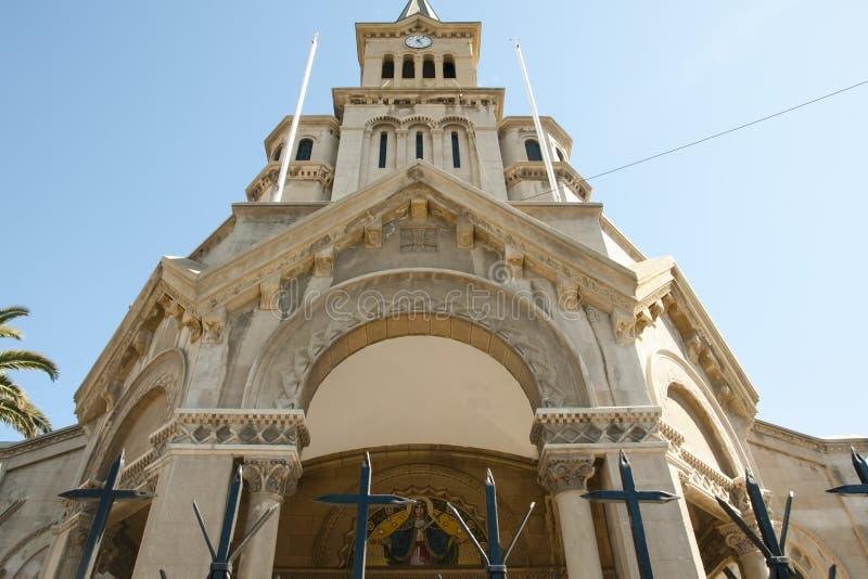 Η κυρία μας εκκλησίας αγωνίας - Vina Del Mar - Χιλή στοκ εικόνες