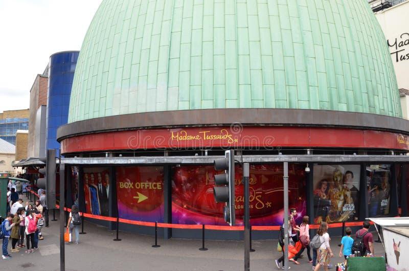 Η κυρία Tussauds London στοκ εικόνες