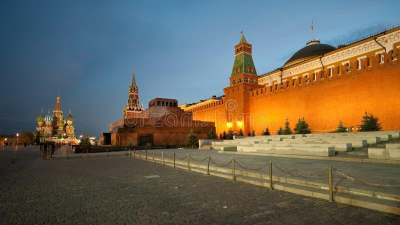 Η κόκκινη πλατεία στη Μόσχα, Ρωσία στοκ εικόνα