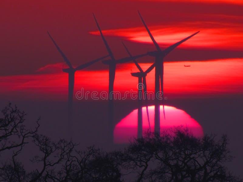 Η κόκκινη Dawn στοκ εικόνα