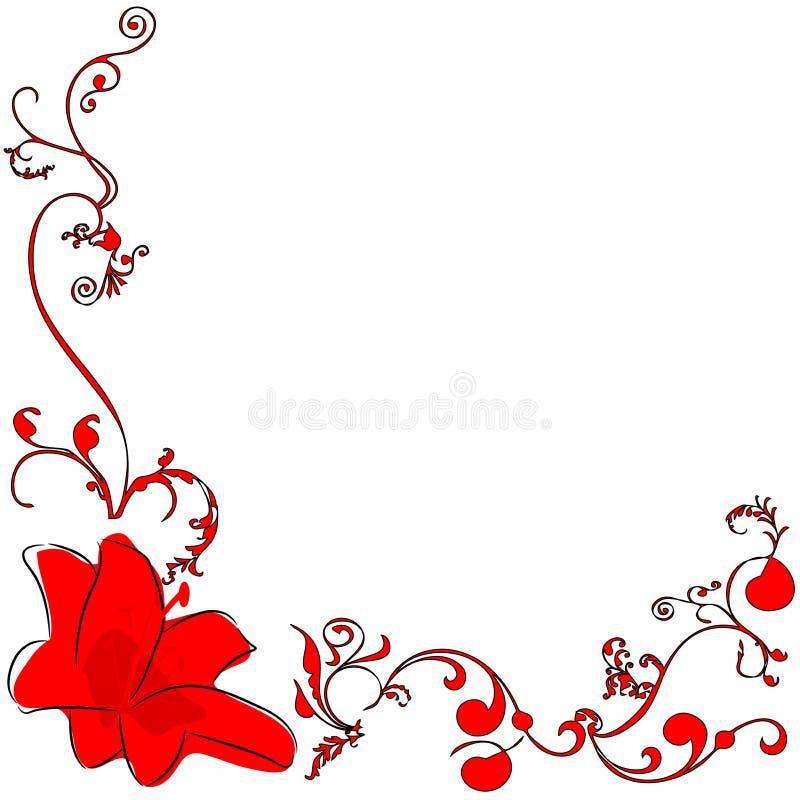 Η κόκκινη Lili 2 απεικόνιση αποθεμάτων