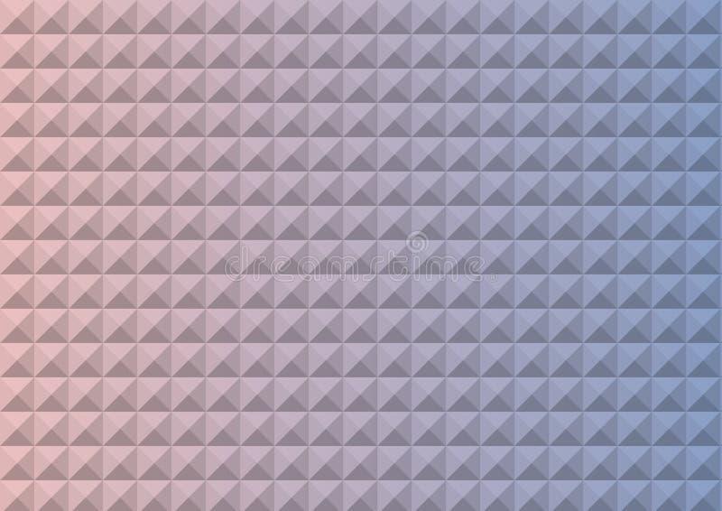 Η κλίση αυξήθηκε χαλαζίας και η ηρεμία χρωμάτισε το πολύγωνο τριγώνων ελεύθερη απεικόνιση δικαιώματος