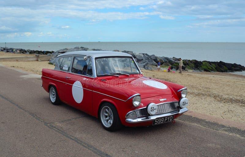 Η κλασική Ford Anglia στοκ εικόνα