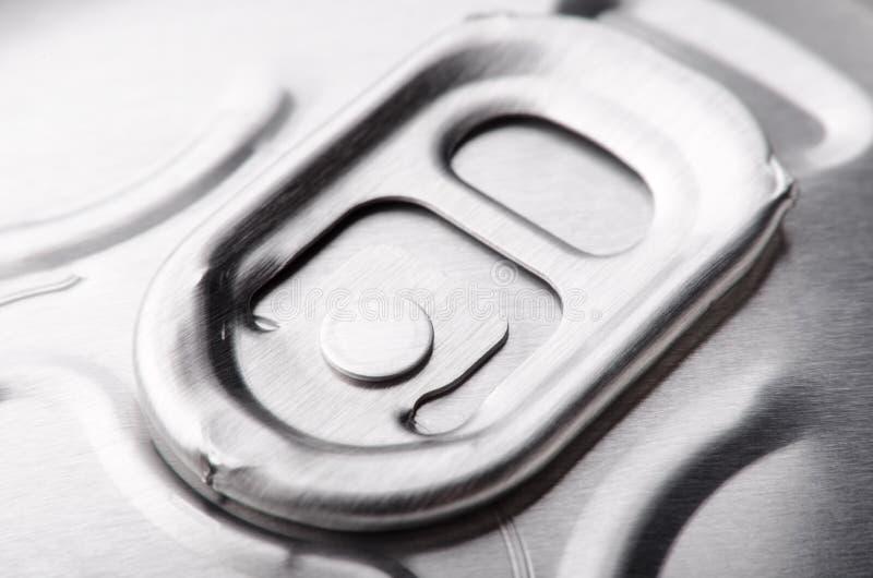 Η κλειστή μπύρα μπορεί στοκ φωτογραφία