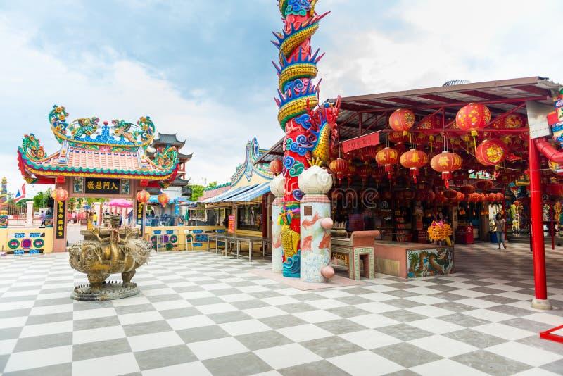 Η λάρνακα στυλοβατών πόλεων Suphanburi στοκ φωτογραφίες